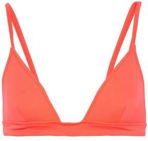 Solid & Striped Neon Triangle Bikini Top