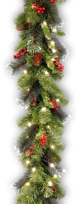 Three Posts Spruce Pre-Lit Garland with 50 Clear Lights