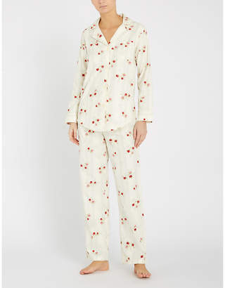 Ralph Lauren Floral-print cotton pyjama set
