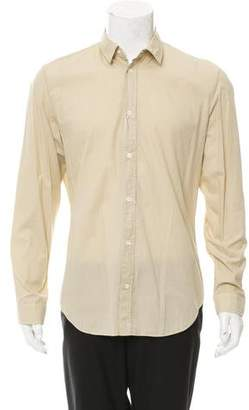 Maison Margiela Point Collar Button-Up Shirt w/ Tags