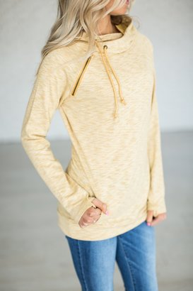 SingleHood Pullover - Sunshine $49.99 thestylecure.com