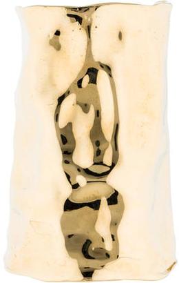 Jennifer Fisher XL Crinkle Cuff $525 thestylecure.com