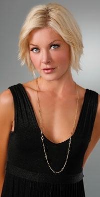 Gara Danielle Gold Link Chain Necklace