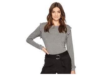 Kensie L.W. Viscose Spandex Top KS2K3399 Women's Clothing