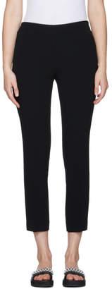 Neil Barrett Black Crepe Trousers