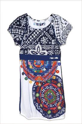 Desigual Cotton Charleston Dress