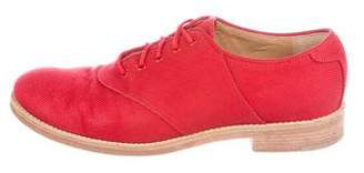 Boy By Band Of Outsiders Canvas Round-Toe Oxfords