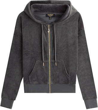 Juicy Couture J Bling Velour Hoodie $199 thestylecure.com