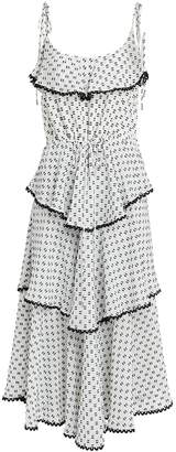 Lover Polka Dot Midi Dress