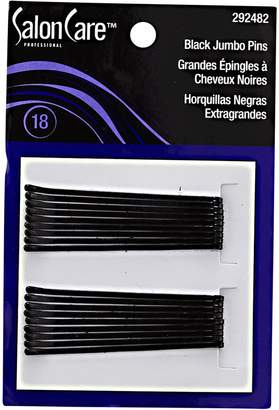 Salon Care Black Professional Jumbo Hair Pins