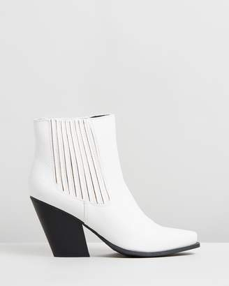 Missguided Western Ankle Boots