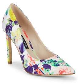 Nine West Tatiana Floral Pumps