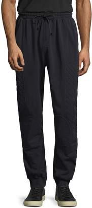Pierre Balmain Men's Quilted Solid Sweatpants