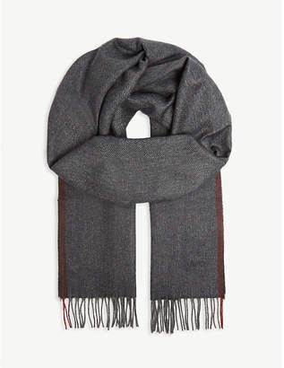 Corneliani Herringbone scarf