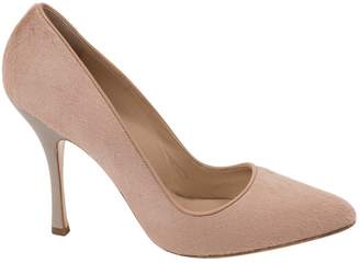 Max Mara Pony-style calfskin heels