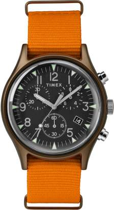 Timex R) MK1 Chronograph Nylon Strap Watch, 40mm