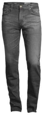 AG Jeans Five-Pocket Stretch Cotton Slim Jeans