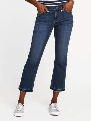 Old Navy Mid-Rise Flare Ankle Jeans for Women