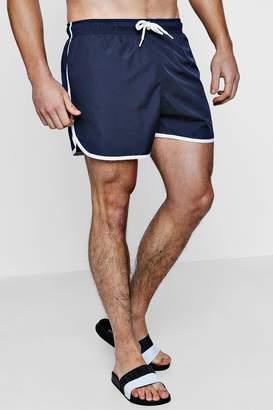 boohoo Runner Swim Shorts