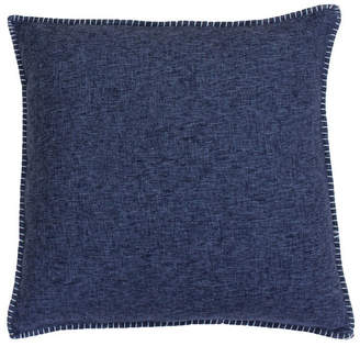 Co Jimco Lamp & Manufacturing 20 PF 2 Pack Feather Gray Georgetown Chunky Weave Whipstitch Pillow