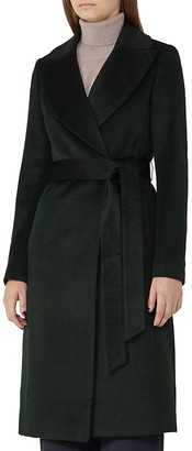 REISS Forley Belted Long Coat $660 thestylecure.com
