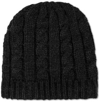 Tommy Hilfiger Chunky Fleece-Lined Cable Knit Hat d756d084d84e