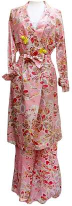 John Galliano Pink Silk Coats