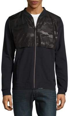 Strellson Frame Zip-Front Cotton Jacket