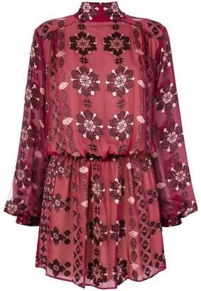 Pierre Balmain floral print dress
