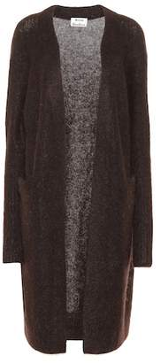 Acne Studios Raya wool and mohair blend cardigan