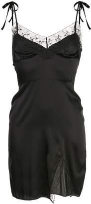 Cynthia Rowley Elizabeth Lace Trim Slip Dress