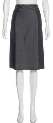 Ralph Lauren Black Label Knee-Length A-Line Skirt