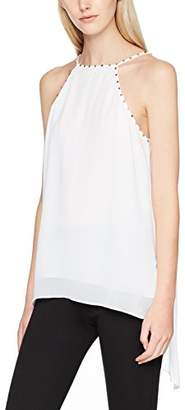 GUESS Women's Sl Francy Top T-Shirt, (True White A000), M