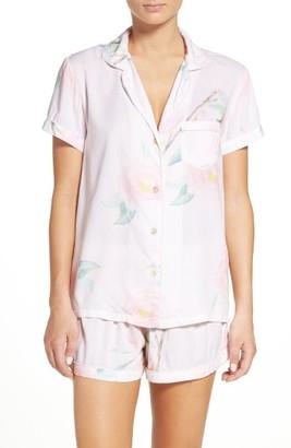 Women's Plum Pretty Sugar Oracle Short Pajamas $56 thestylecure.com