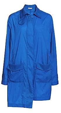 artica-arbox Women's Long Step Hem Windbreaker Jacket
