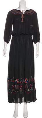 The Great Embroidered Maxi Dress