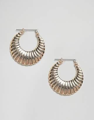 Pieces Creole Hoop Earrings