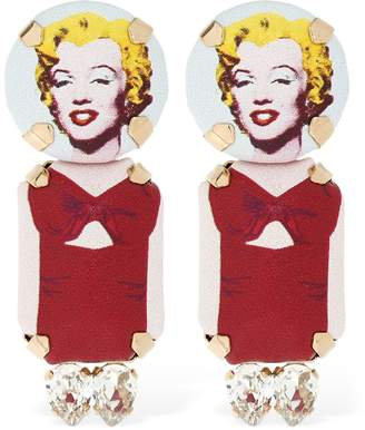 Monroe Bijoux De Famille Marylin Clip-On Earrings