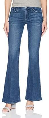 James Jeans Women's Bella Flat Flare Leg Jean