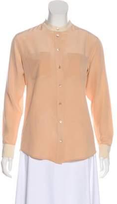 Equipment Silk Button Up Blouse Silk Button Up Blouse