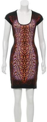 Just Cavalli Sleeveless Mini Dress Black Sleeveless Mini Dress
