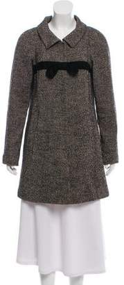 Theory Collared Wool Coat