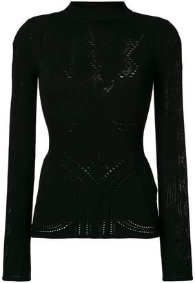 Roberto Cavalli shiny roll neck sweater 100% Authentic For Sale Cheap Outlet 1T8pKWlW
