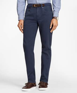 Brooks Brothers Garment-Dyed Cotton Canvas Jeans