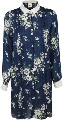 Semi-Couture Semicouture Floral Print Shirt Dress