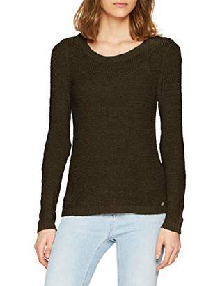 1fc6a028b2ba53 BEIGE ONLY NOS Women's onlGEENA XO L/S Pullover KNT NOOS Jumper, Simply  Taupe