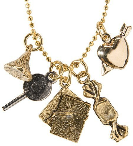 Lisa Goodwin Designs How Sweet It Is Charm Necklace - Goldtone