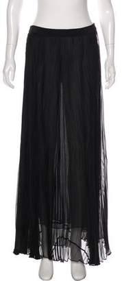 Rag & Bone Silk Pleated Maxi Skirt w/ Tags