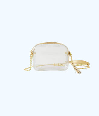 Lilly Pulitzer Clear Crossbody Bag