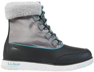 L.L. Bean L.L.Bean Women's Ultralight Waterproof Pac Boots, Mid
